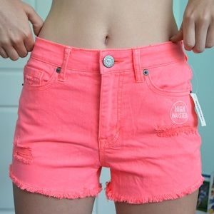 Aeropostale Neon Pink Shorts *NEVER WORN TAGS ON*